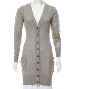 ALEXANDER WANG Lightweight Cutout Knit Cardigan
